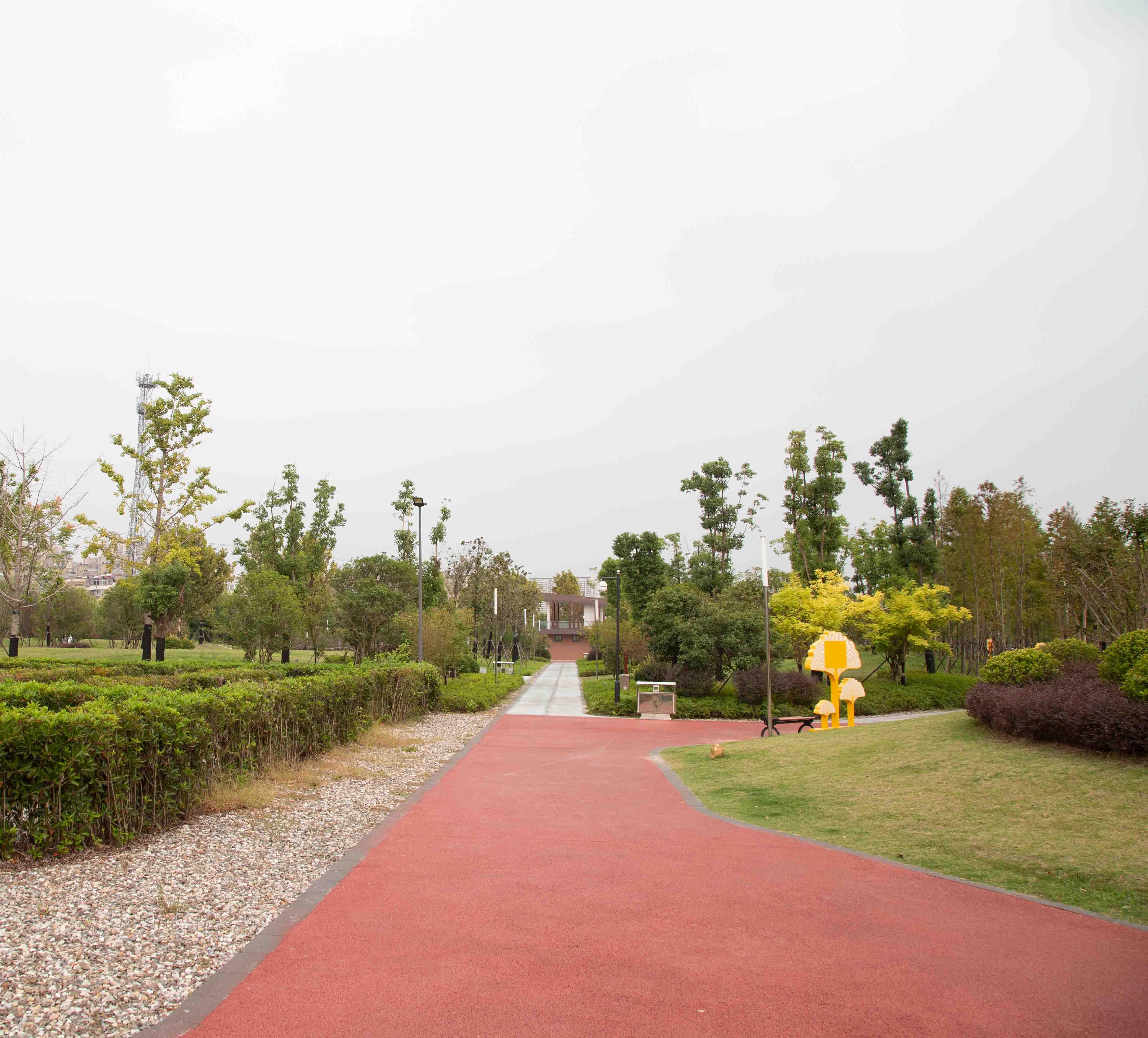 羌溪河城市公园